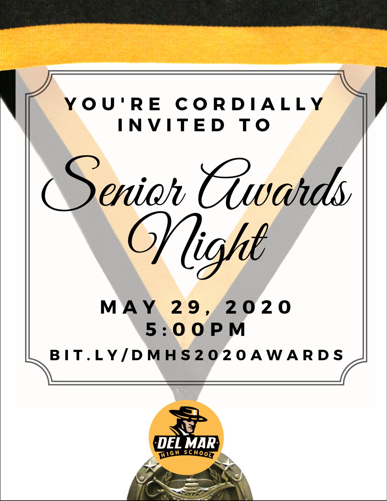 image of senior awards week