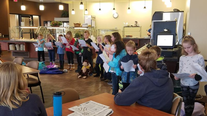2nd Grade Readers Theater: Bob The Goofy Reindeer Featured Photo