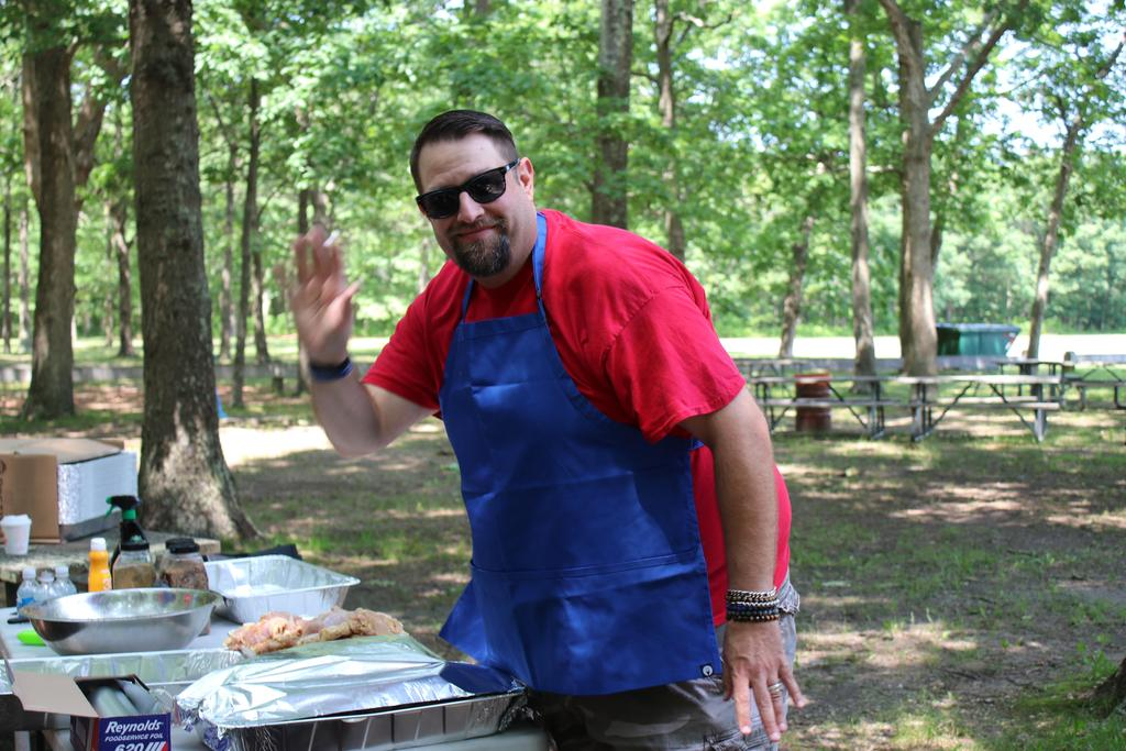 Volunteer at DDI Employee Picnic