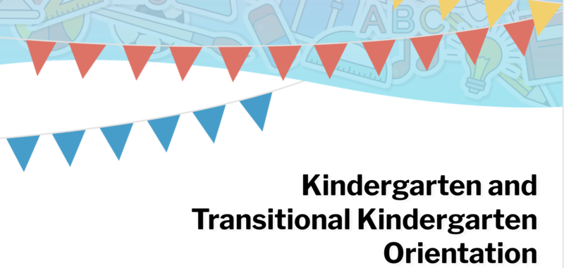 Register now for the Kindergarten/TK Parent Information Night Jan 26, 2021 7:00 pm Featured Photo