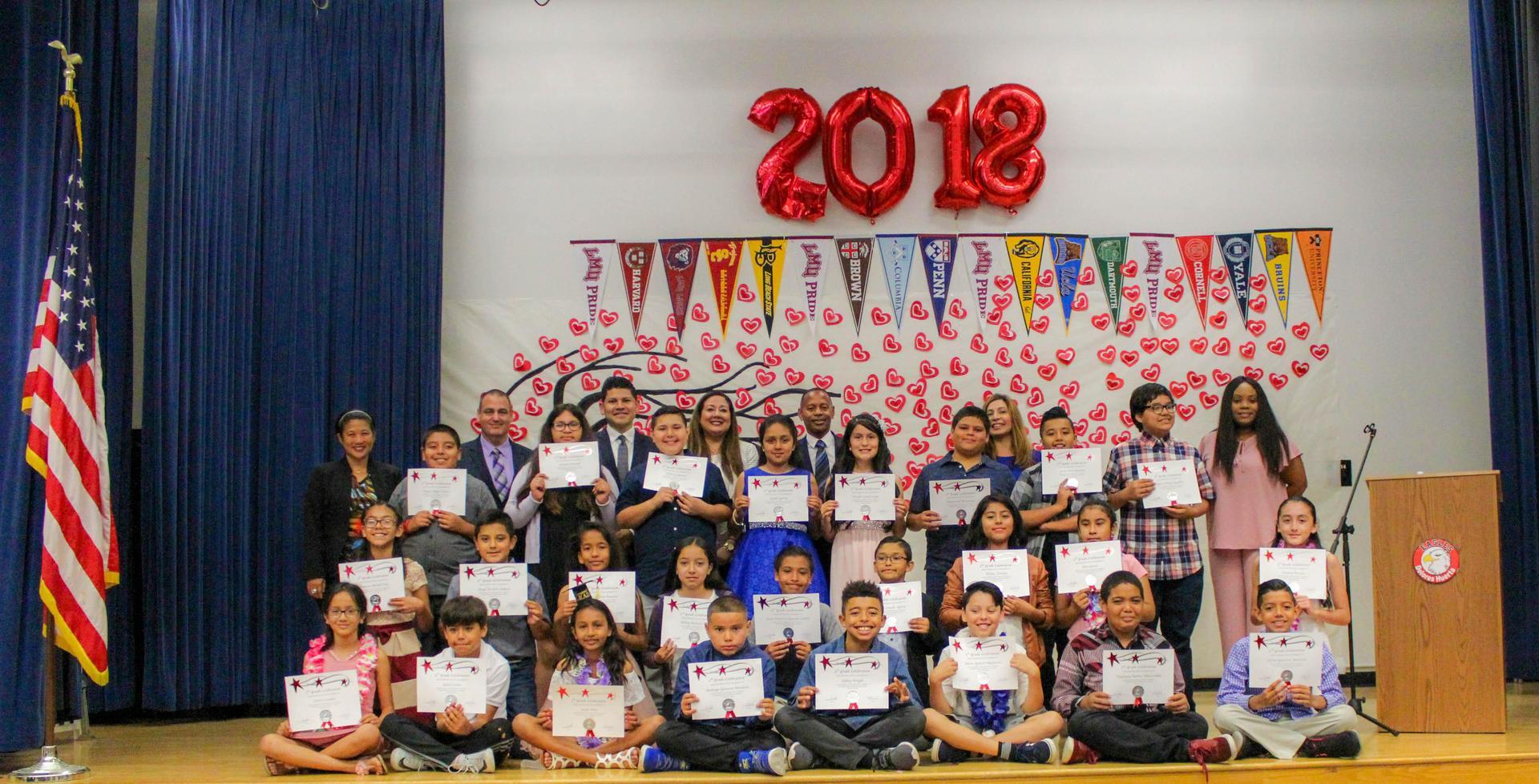 Huerta Elementary Promotion 2018