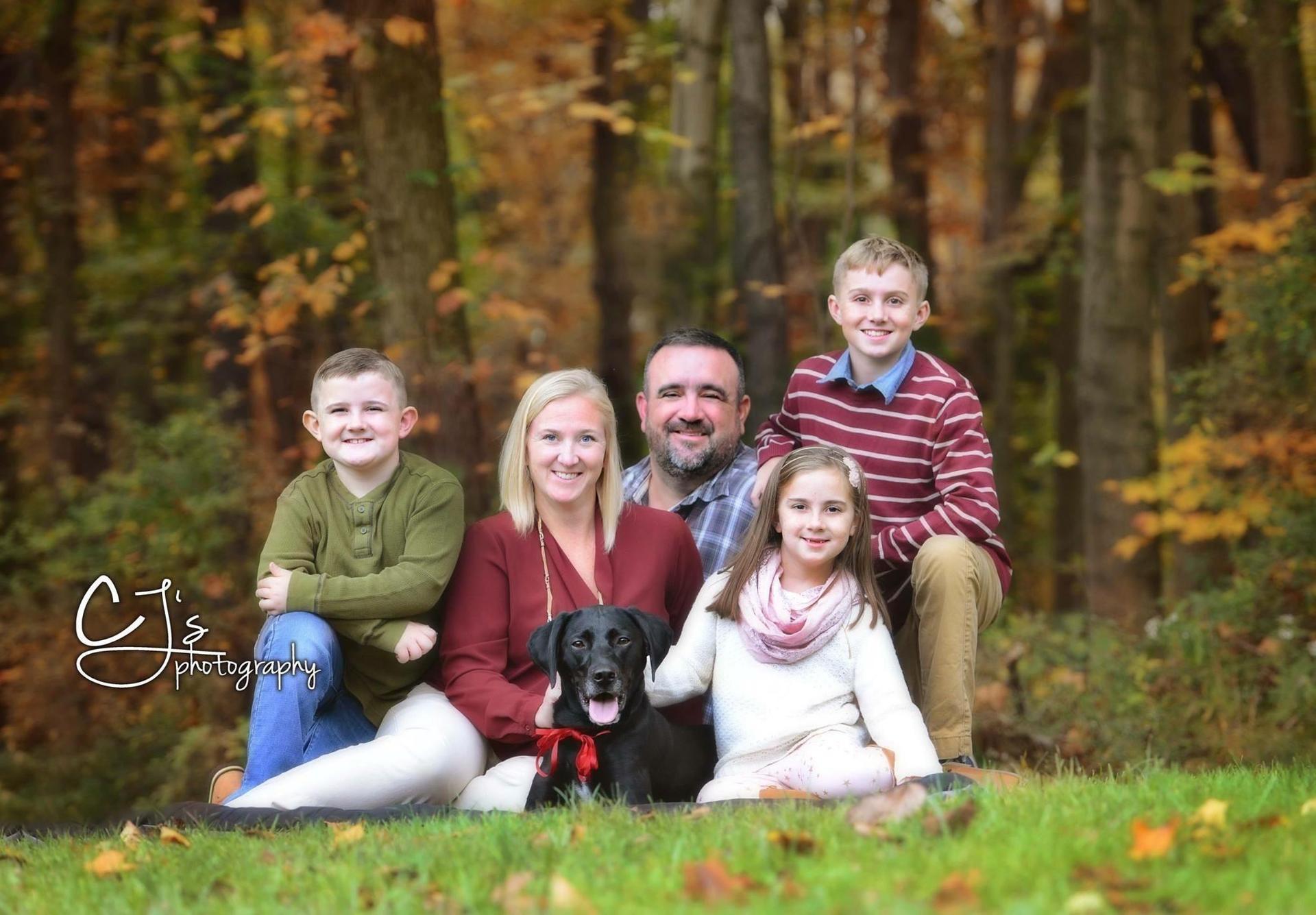 My Family (Dawn, Xander-13, Carter- 9, Emerson -7)