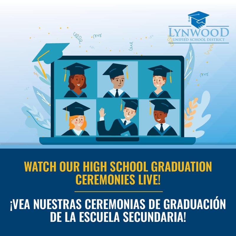Watch LUSD Graduation Ceremonies Live! Featured Photo