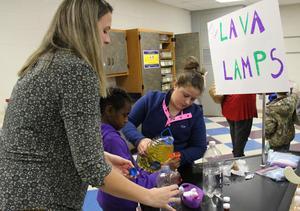B-L Middle School Hosts Fun, Educational STEAM Night
