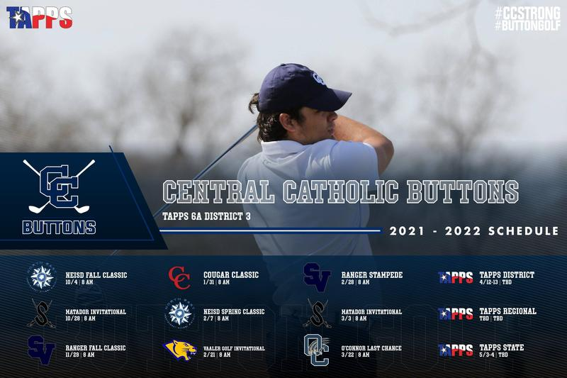 2021 - 2022 Golf Schedule