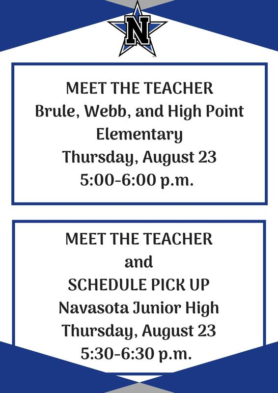 MEET THE TEACHER ELEMENTARY AND NJH Featured Photo