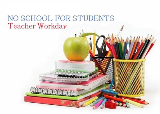 No School Monday- Teacher Professional Development Day 11/1 Featured Photo