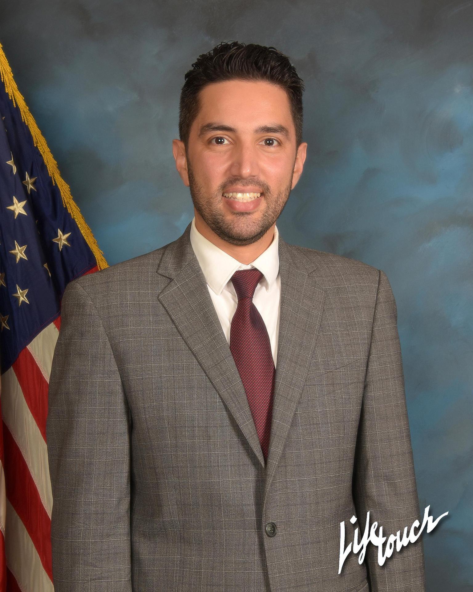 Portrait of Andrew L. Ammon