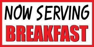November Breakfast Menu Featured Photo