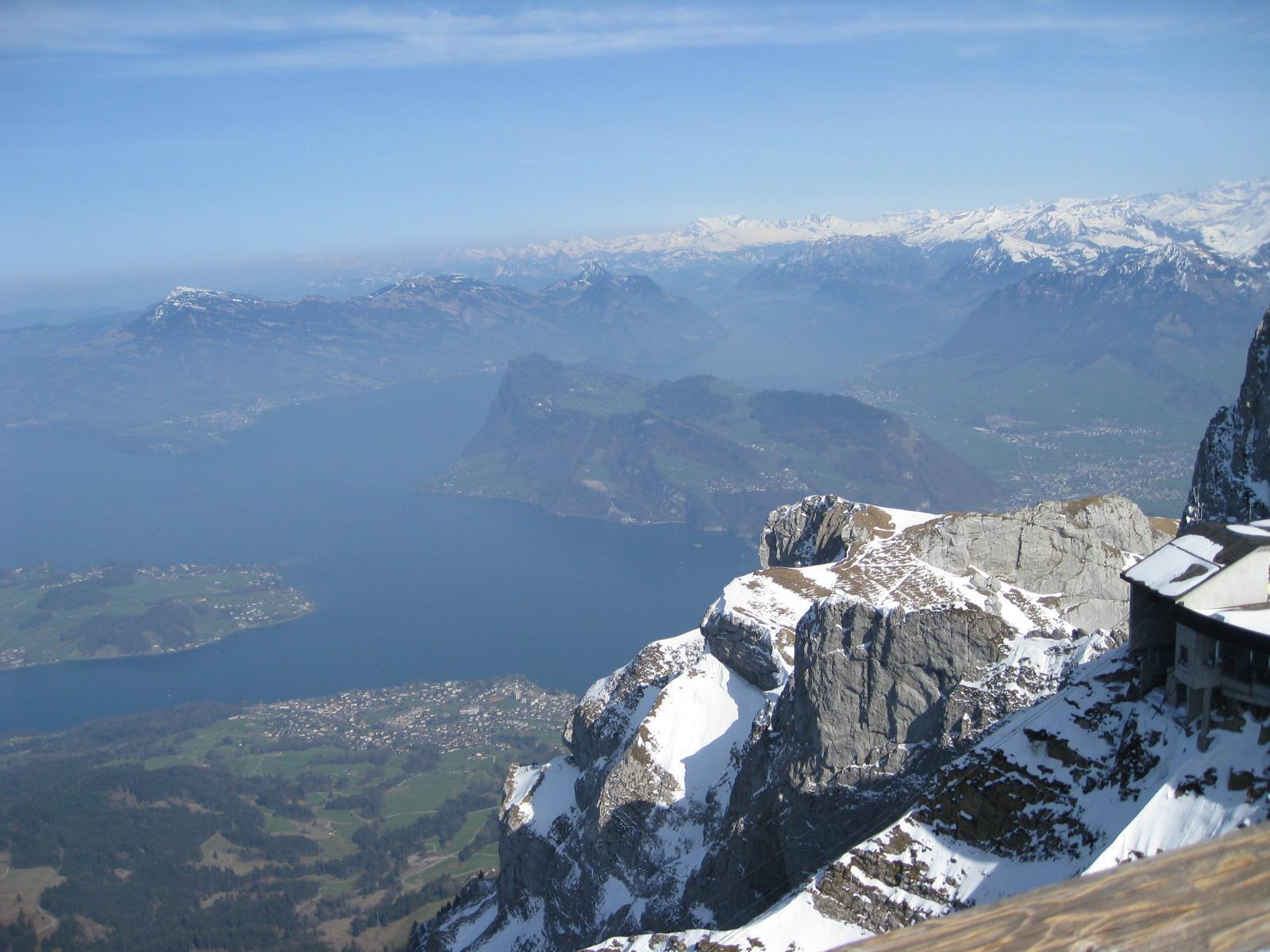 Mountain top in Lucerne, Switzerland
