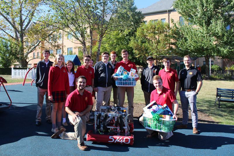 Robotics Team at Child's Way