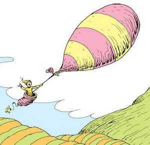 seuss balloon