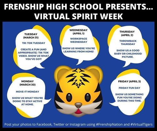Virtual Spirit Days!
