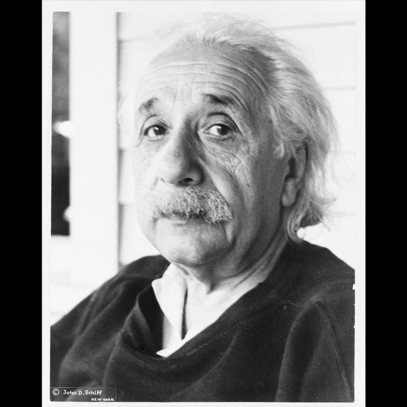 [Albert Einstein, head-and-shoulders portrait, facing left], [c1945]. (Library of Congress)   http://www.loc.gov/item/92519650/