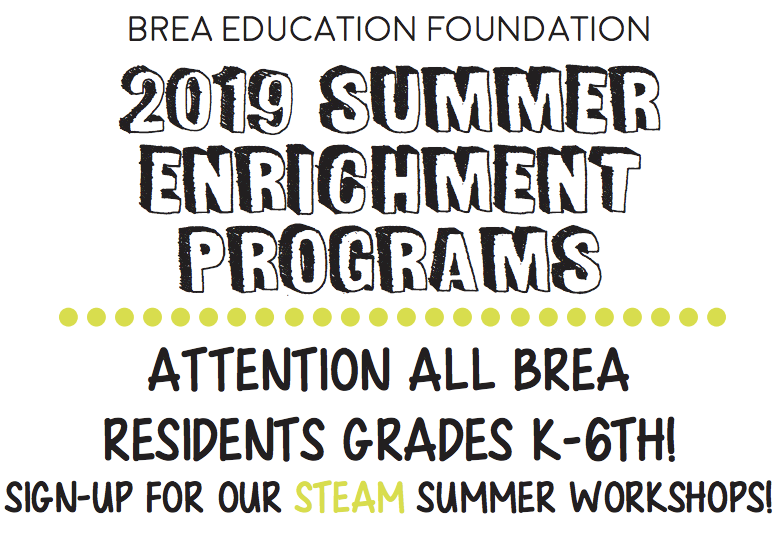 2019 Summer Enrichment Program
