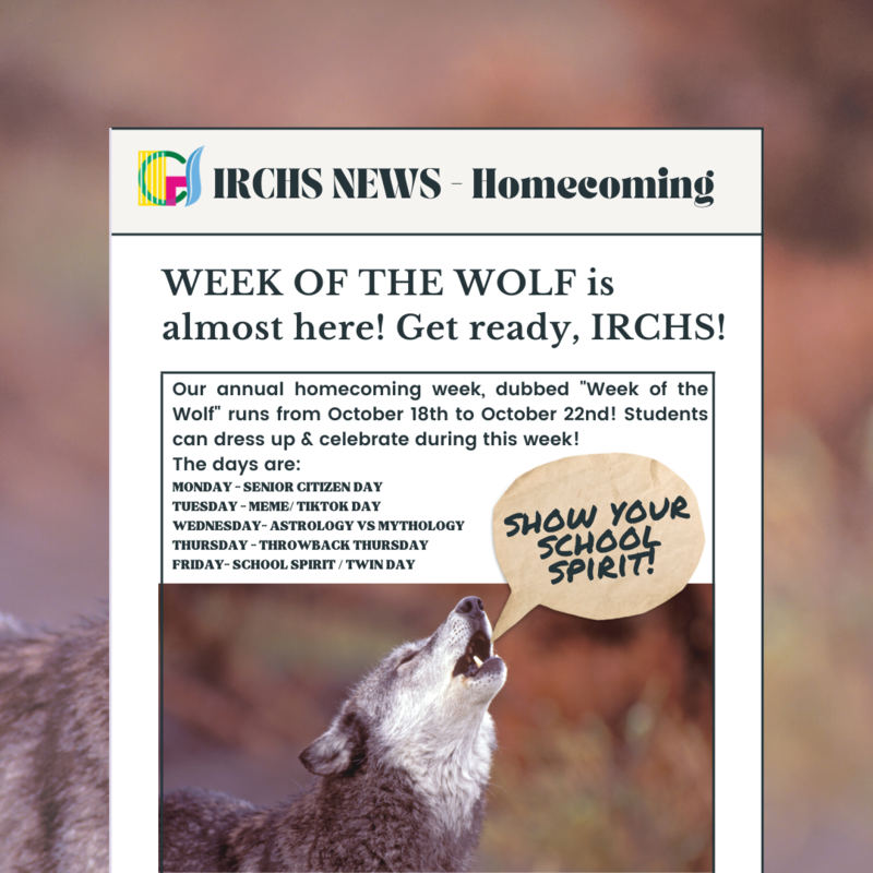 WEEK OF THE WOLF is almost here! Featured Photo