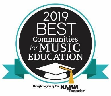 Best Communities for Music Education Award Logo