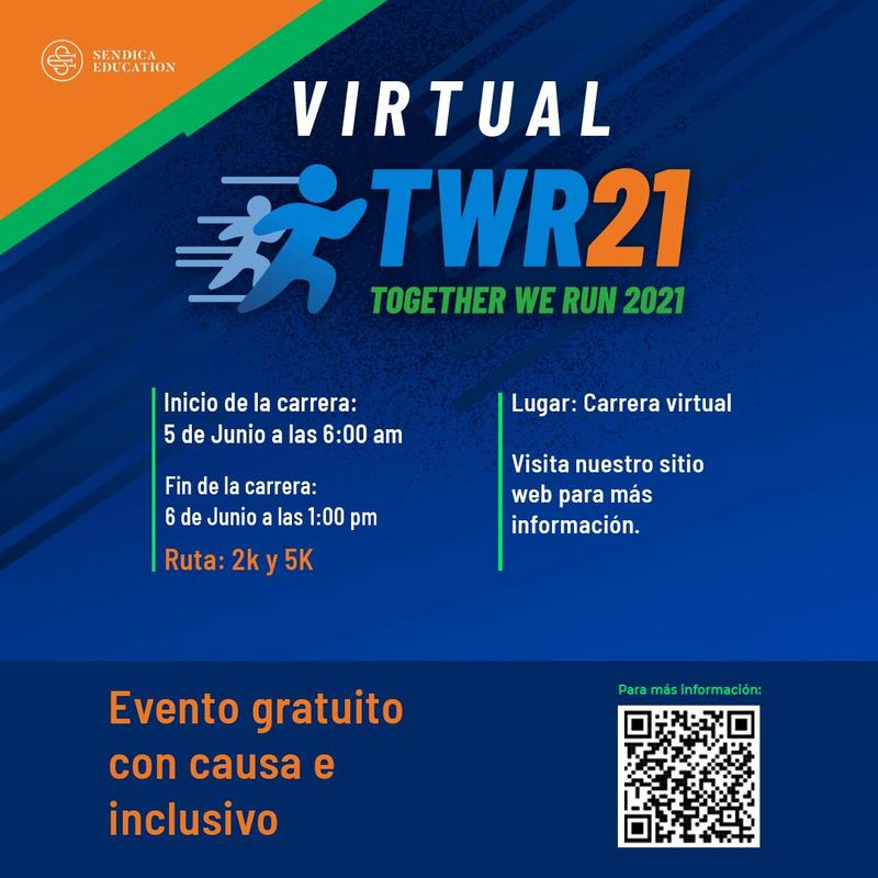 You're invited to the first Sendica Race -Together We Run 21. Featured Photo