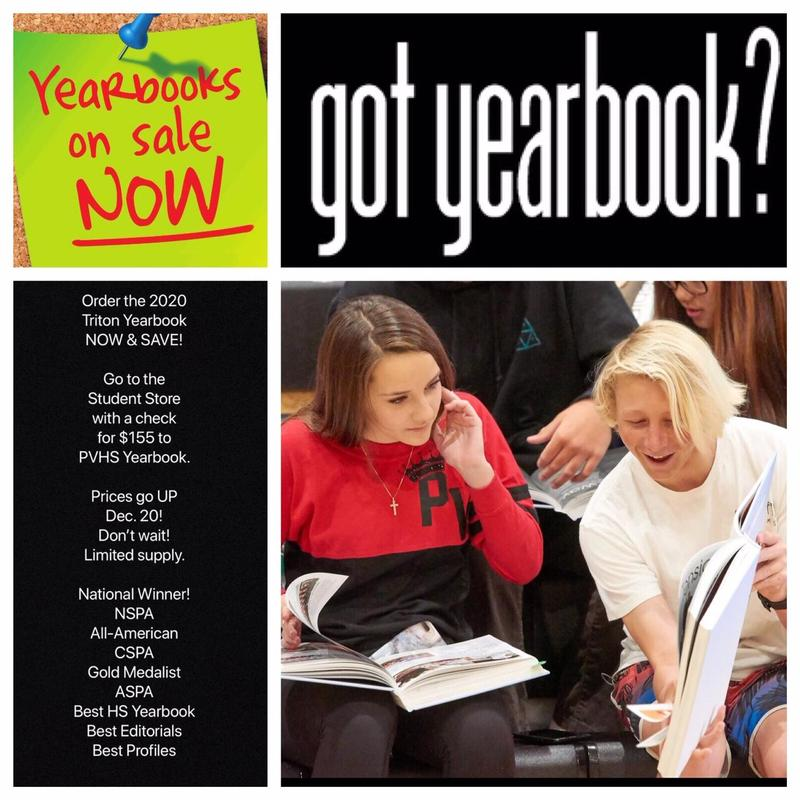 Yearbooks on Sale NOW! Thumbnail Image