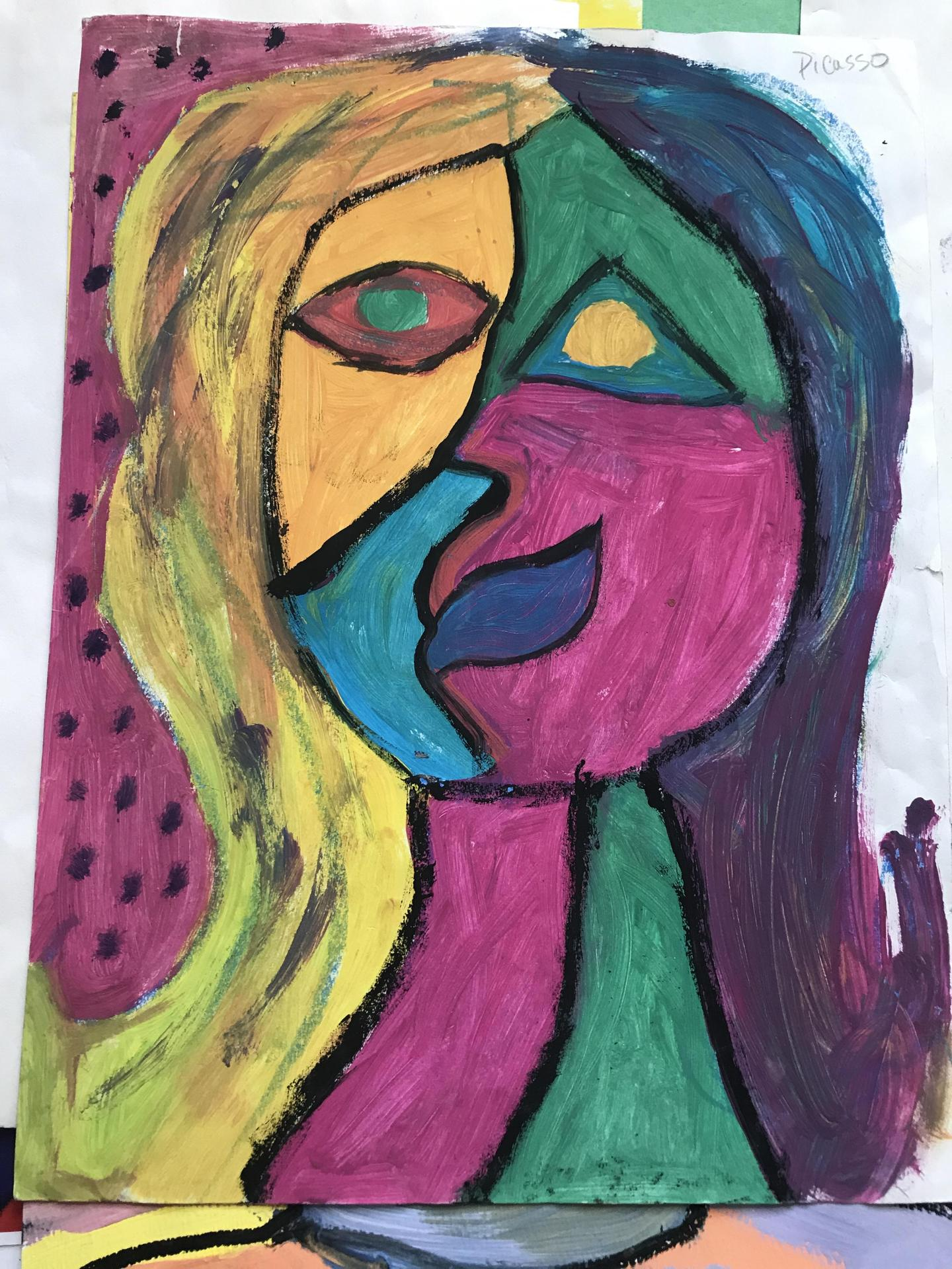 Art In Action Inspired by Picasso