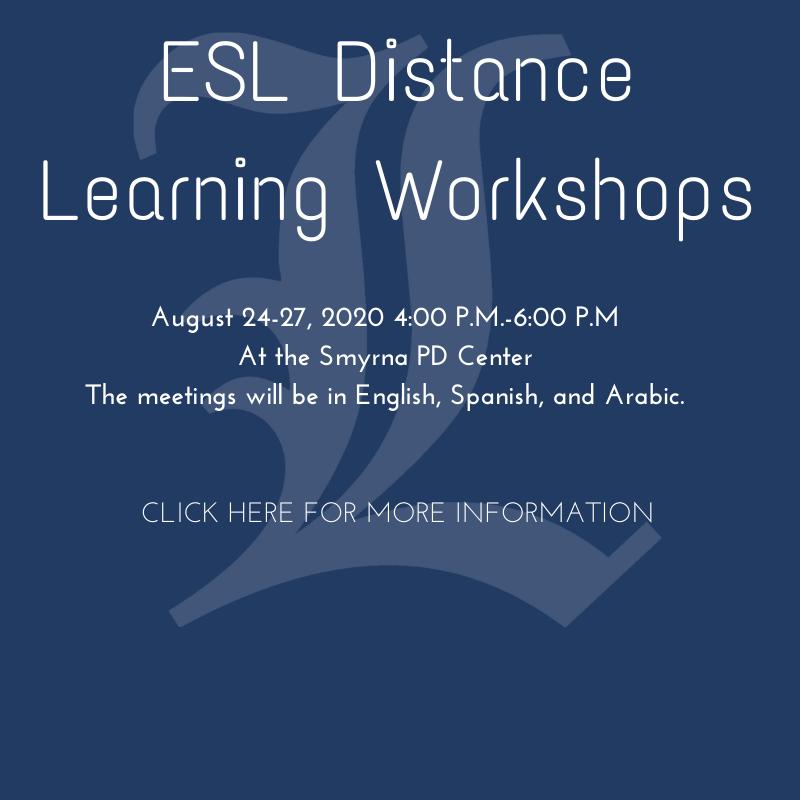 ESL Workshops link