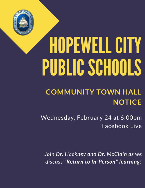 Community Town Hall Flyer