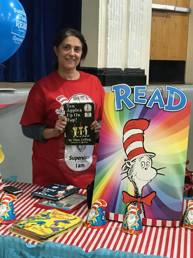 supervisor at the lets read table