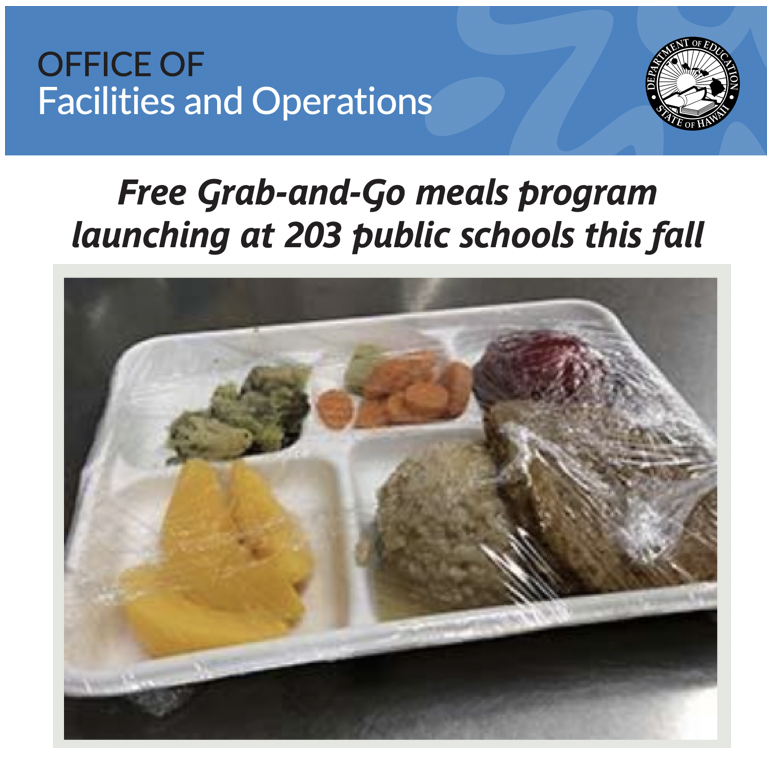 Fall 2020 Grab and Go lunch