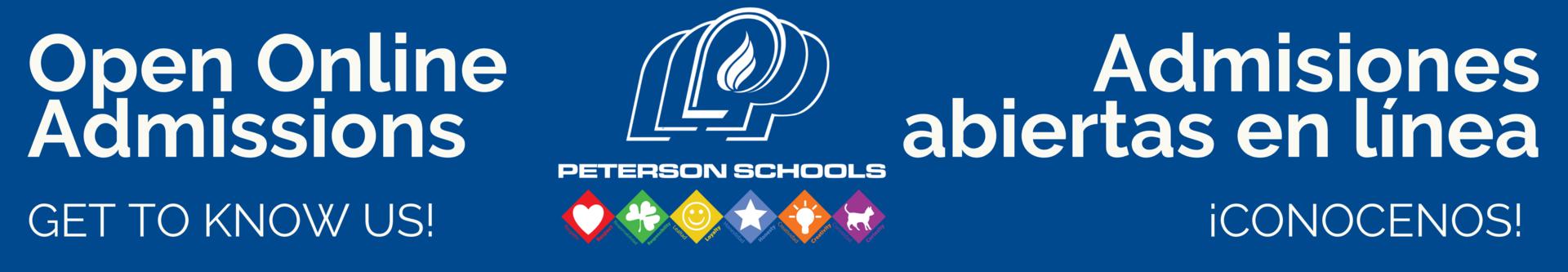 admissions banner website