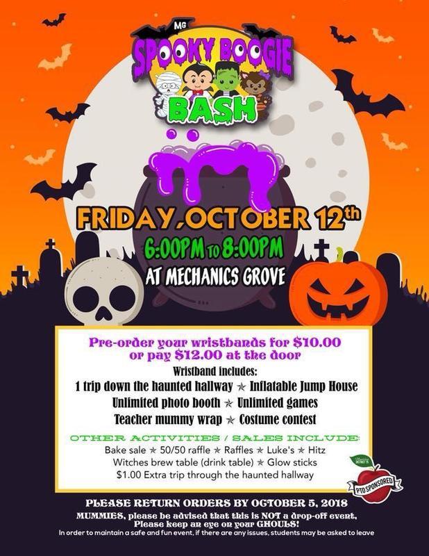 Spooky Boogie Bash Flyer