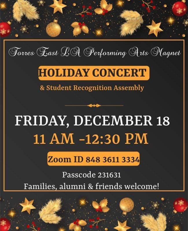 Holiday Concert Featured Photo