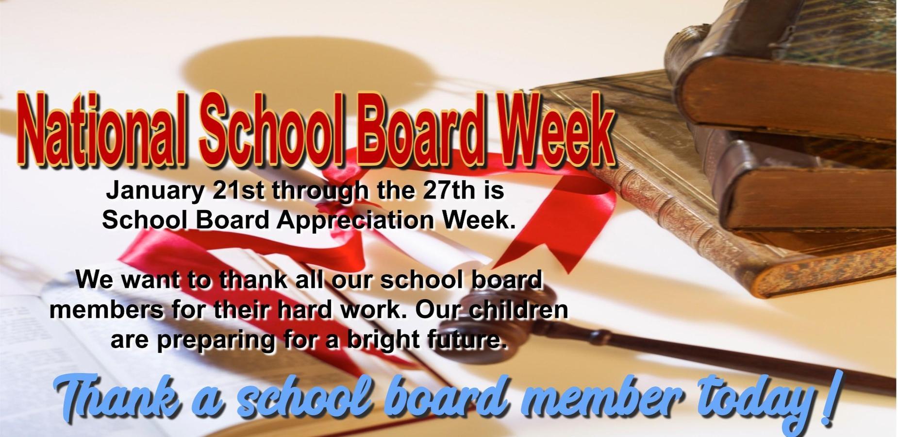 National School Board Week