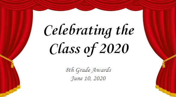 8th Grade Awards Night - Video Thumbnail Image