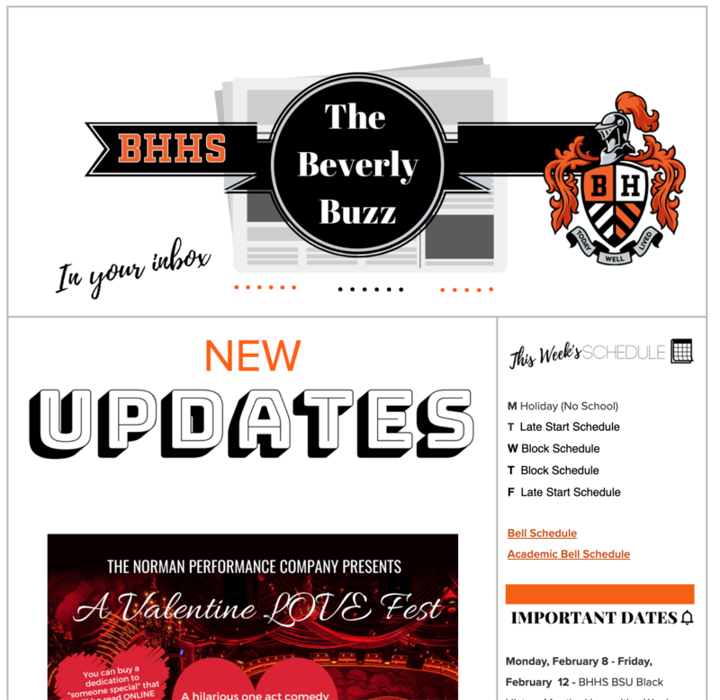 BHHS Newsletter - The Beverly Buzz - Feb. 10, 2021