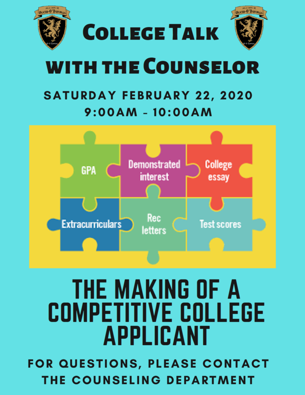 College Talk with the Counselor Thumbnail Image
