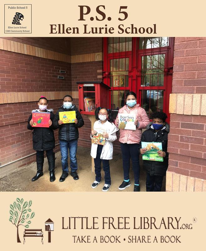 P.S.5 Selected for the Little Free Library Grant Featured Photo