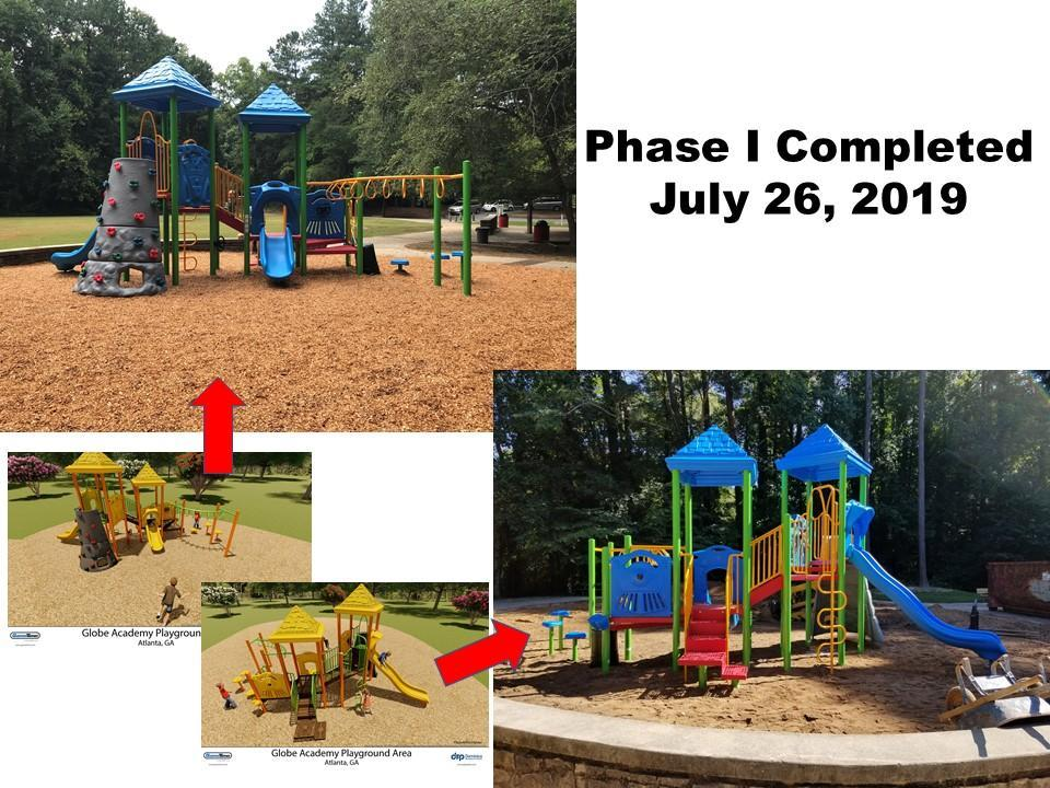 Image of Phase I completed