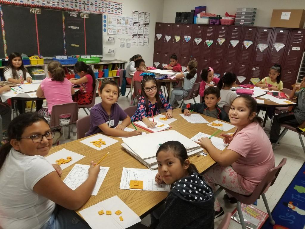 finding area using Cheez-Its