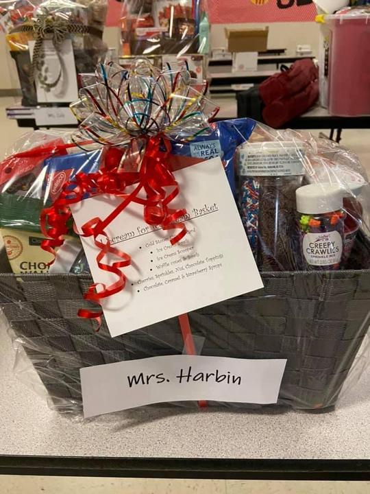 Mrs. Harbin's I Scream for Ice Cream Basket