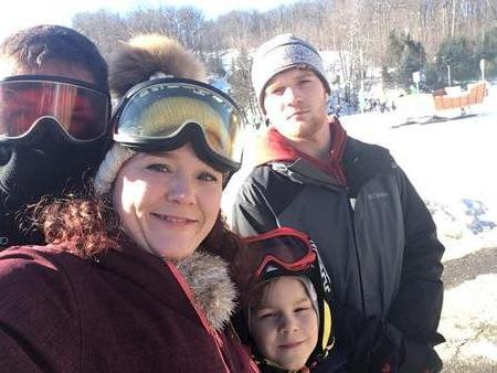 Skiing in MA