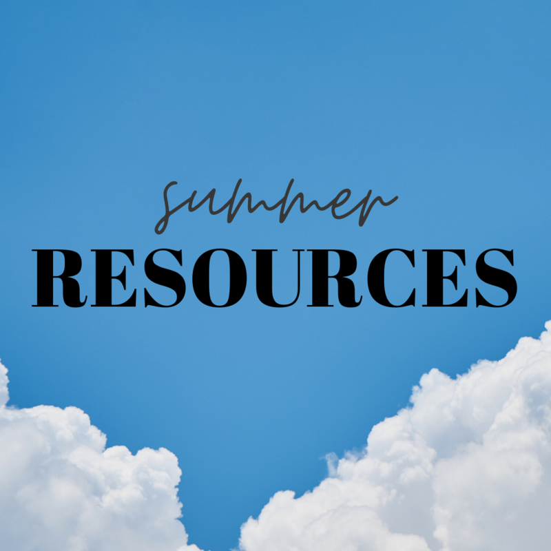 Summer Resources Featured Photo