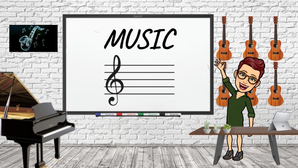 Music Bitmoji Room