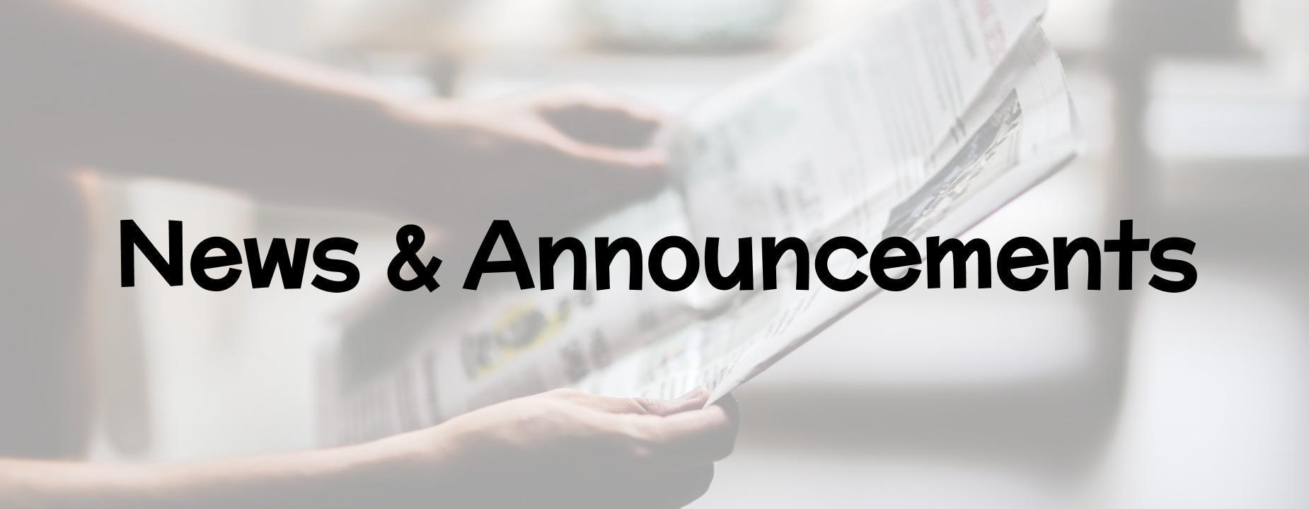 Link to News and Announcements