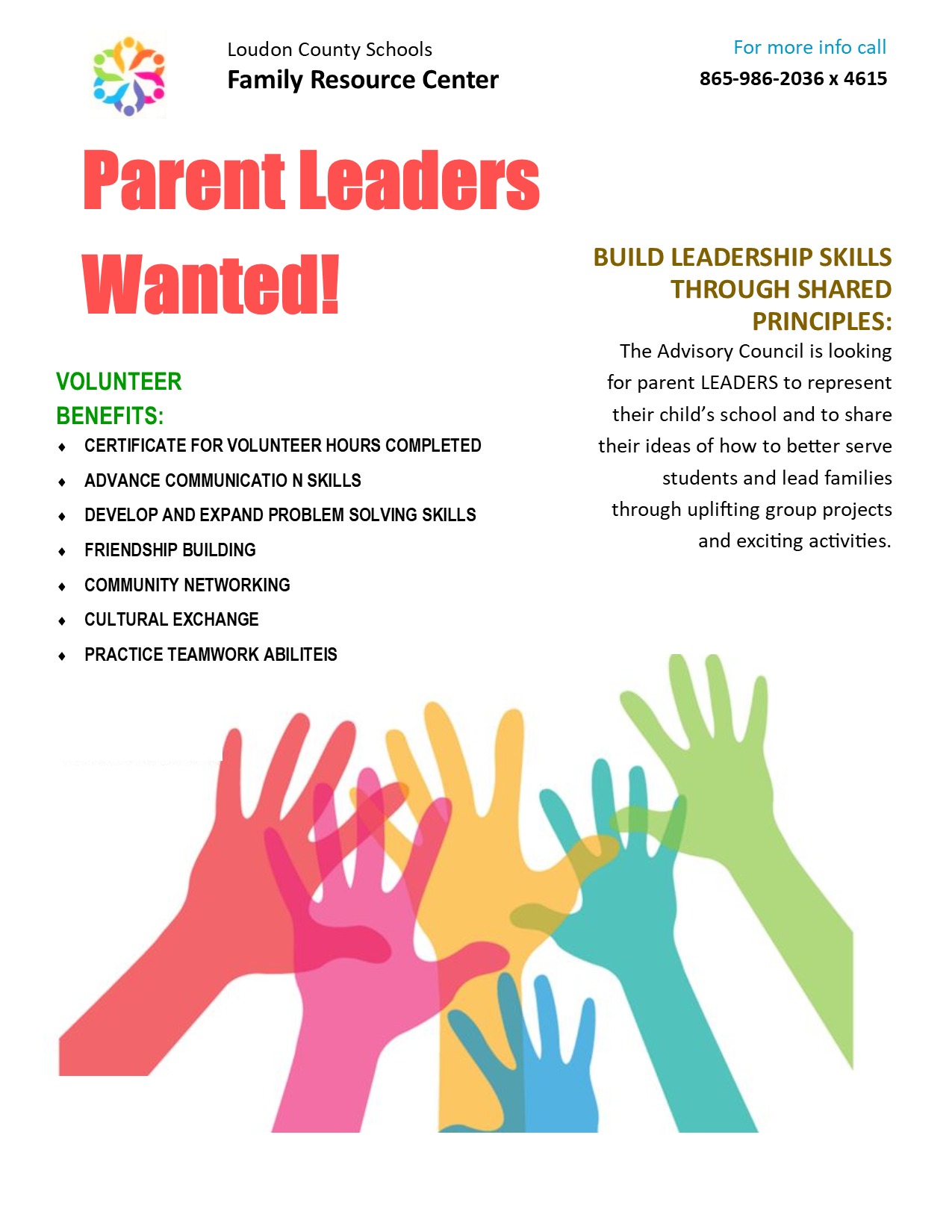 Parents Wanted