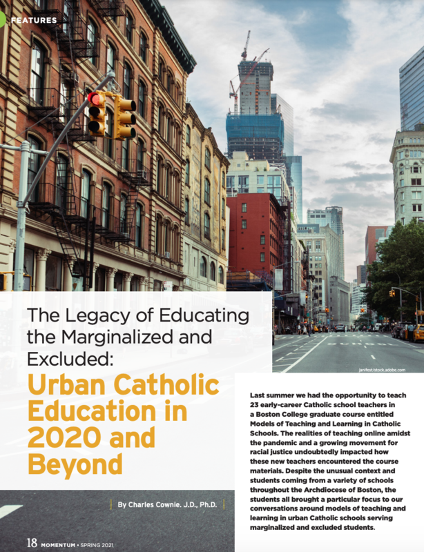 Saint Cols Parent Pens Article on Urban Catholic Education Featured Photo