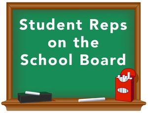 student rep sign