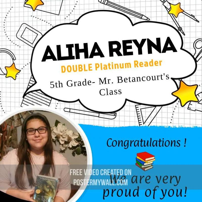 Aliha Reyna- DOUBLE Platinum Reader Featured Photo