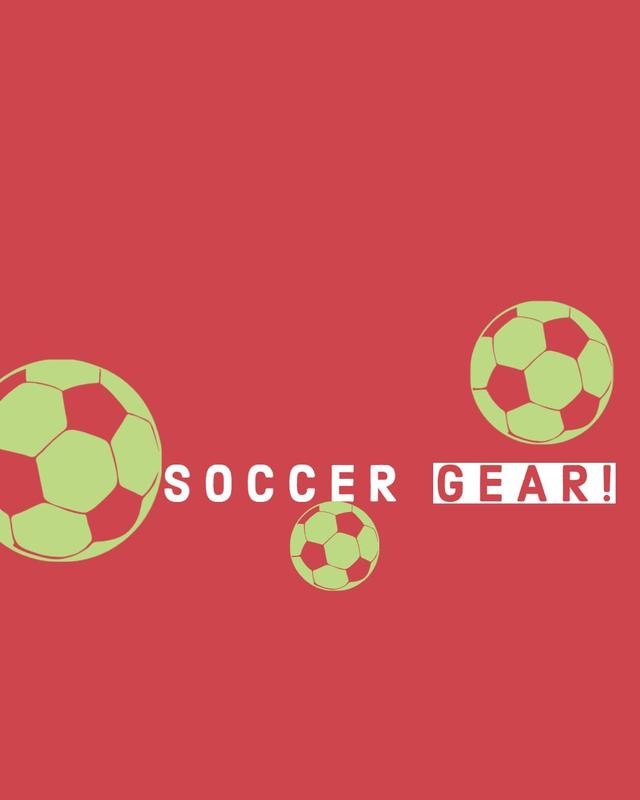 Soccer Gear Sale