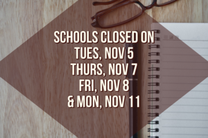 Schools Closed (Dates)