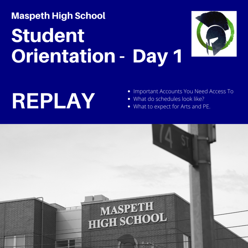 Student Orientation Day 1 replay